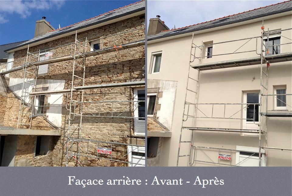 Le r cif du belon category 13 travaux de maison - Maison avant apres travaux ...